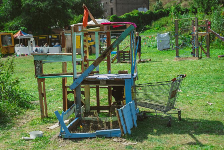 Rezerwat Dzikich Dzieci wLublinie – przygodowy plac zabaw