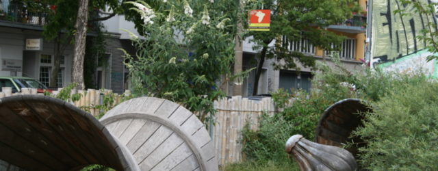 Rośliny na placu zabaw