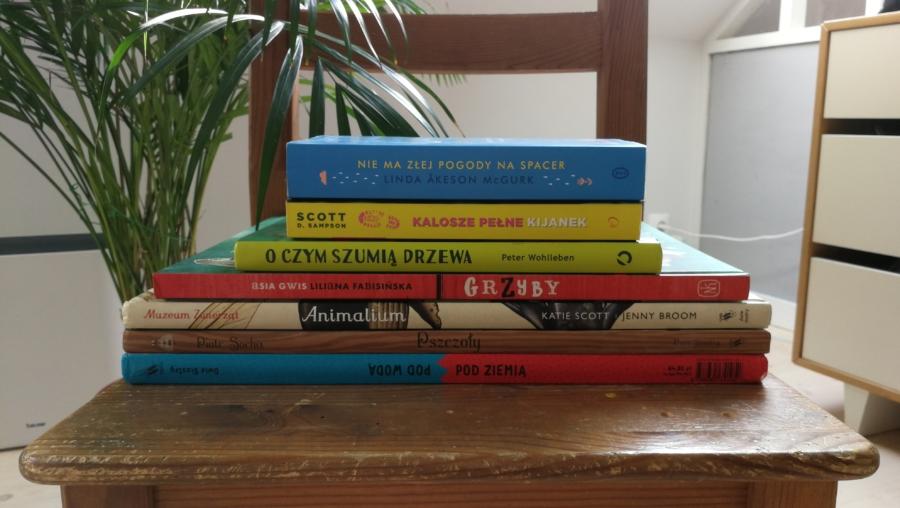 Wybrane książki Montessori-friendly