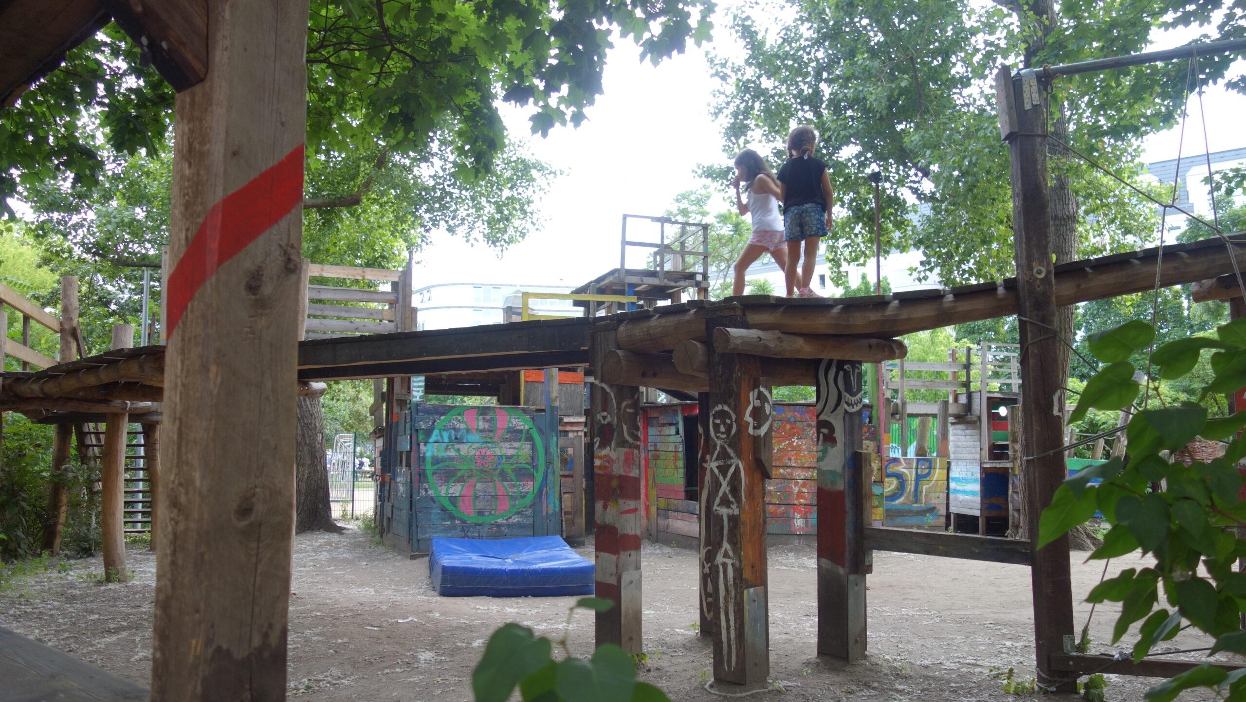 Place zabaw wBerlinie